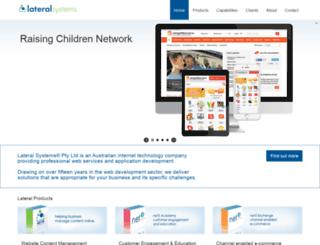 lateralsystems.net screenshot