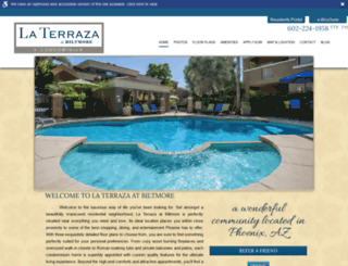 laterrazaatthebiltmore.com screenshot