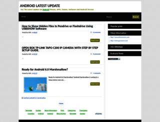 latest-android-news.blogspot.com screenshot