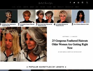 latest-hairstyles.com screenshot