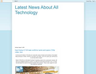 latest-news-technology.blogspot.com screenshot