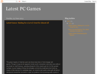 latest-pc-games-tonjoy.blogspot.in screenshot