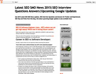 latest-seo-news-updates.blogspot.com screenshot