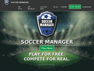 latest.soccermanager.com screenshot