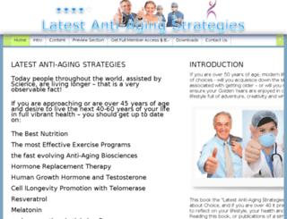 latestantiagingstrategies.com screenshot