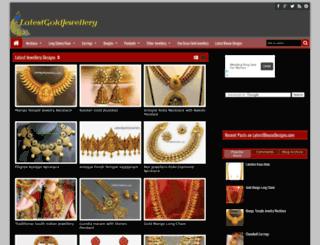 latestgoldjewellery.com screenshot