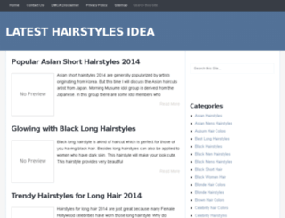 latesthairstylesidea.com screenshot