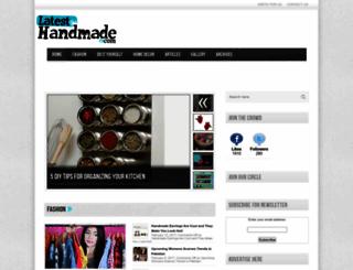 latesthandmade.com screenshot