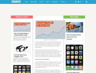 latestiphoneupdates.blogspot.com screenshot