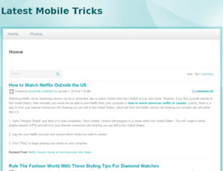 latestmobiletricks.webs.com screenshot