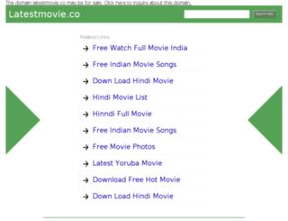 latestmovie.co screenshot