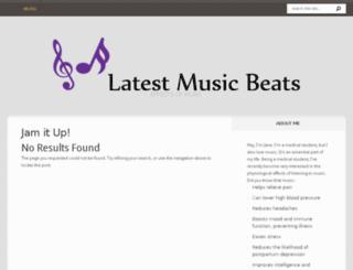 latestmusicbeats.com screenshot