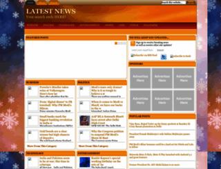 latestnewsindianews.blogspot.in screenshot