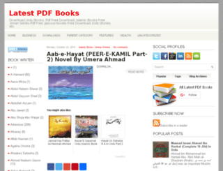 latestpdfbooks.blogspot.com screenshot