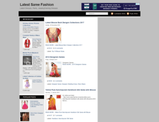 latestsaree.blogspot.com screenshot