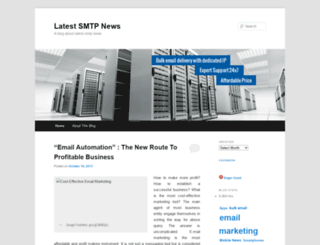 latestsmtpnews.wordpress.com screenshot