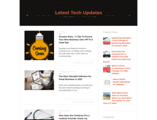 latesttechupdates.com screenshot