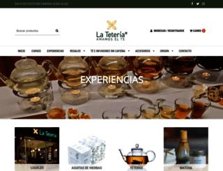 lateteria.cl screenshot