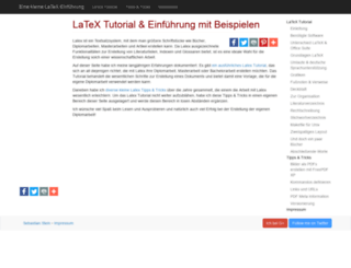 latex.hpfsc.de screenshot