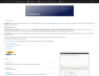 latexdraw.sourceforge.net screenshot