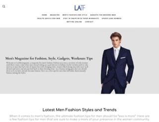 latfthemagazine.com screenshot