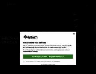 lathamtimber.co.uk screenshot