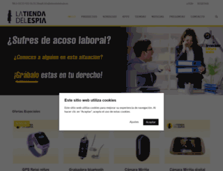 latiendadelespia.com screenshot