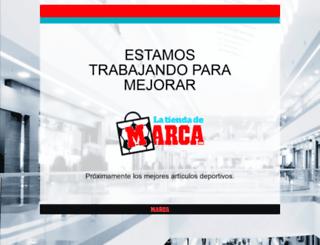 latiendademarca.com screenshot