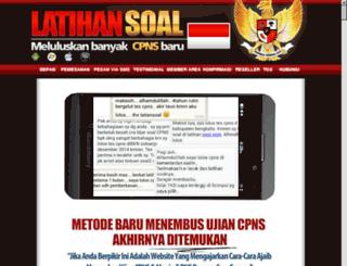 latihantescpns.com screenshot