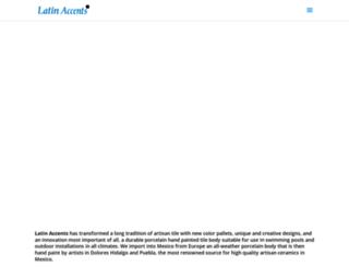 latin-accents.com screenshot