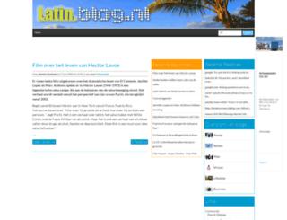latin.blog.nl screenshot