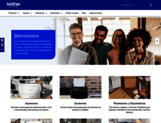 latinamerica.brother.com screenshot
