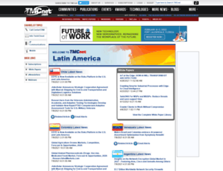 latinamerica.tmcnet.com screenshot
