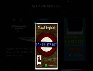 latinapress.it screenshot