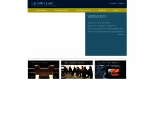 latinart.com screenshot