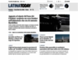 latinatoday.it screenshot