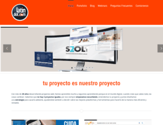 latindot.com screenshot
