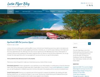 latinflyerblog.com screenshot