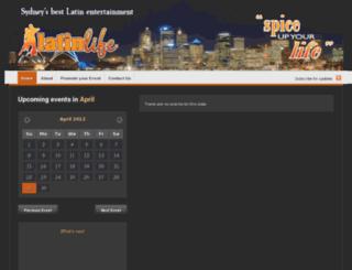latinlife.com.au screenshot