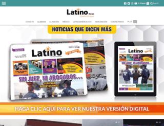latino-news.com screenshot