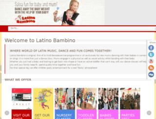 latino.testnme.com screenshot