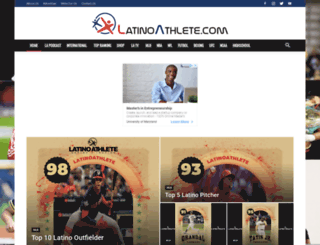 latinoathlete.com screenshot
