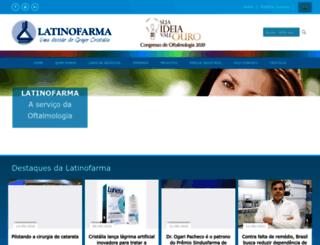 latinofarma.com.br screenshot
