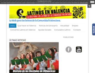 latinosenvalencia.com screenshot