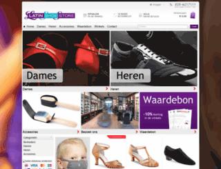 latinshoestore.nl screenshot