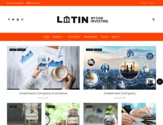 latinstockinvesting.com screenshot