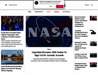 latintimes.com screenshot