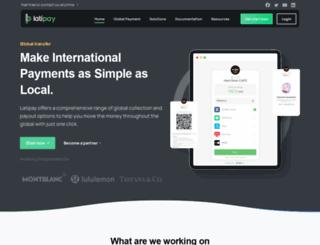latipay.net screenshot