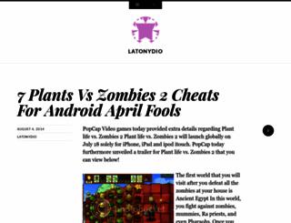 latonydio.wordpress.com screenshot