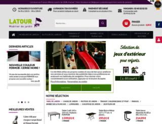 latour-mobilier-jardin.fr screenshot